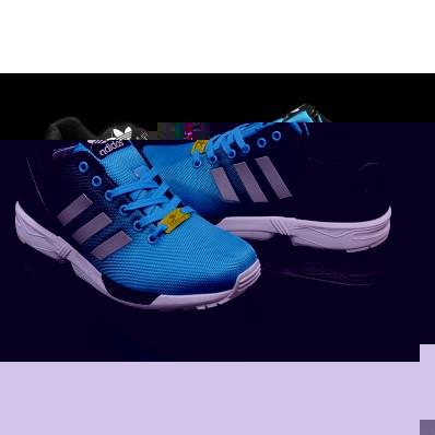 adidas zx flux galaxy bleu pas cher