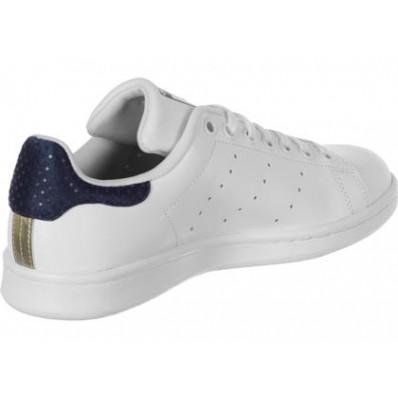 adidas stan smith blanche et dore