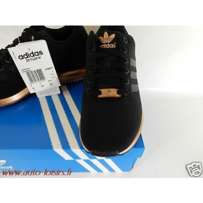 adidas zx flux femme noir et rose gold