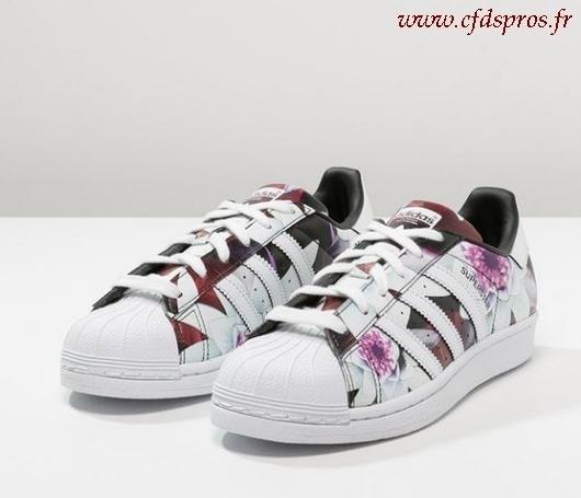 Adidas Superstar Femme Fleuri