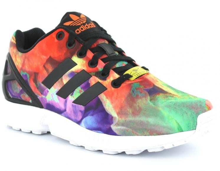 adidas originals zx flux Multi Color Women's running shoes