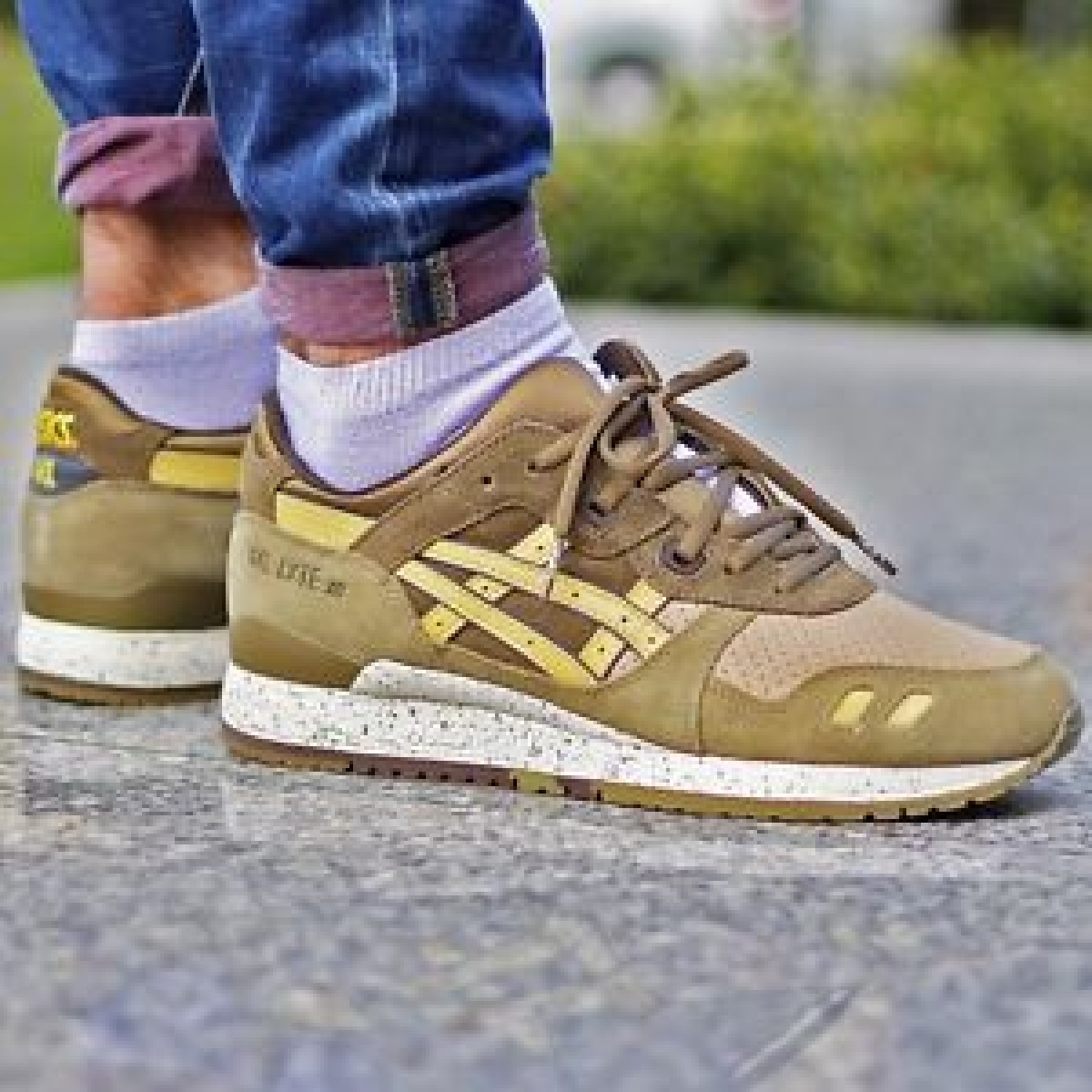 chaussure asics gel homme